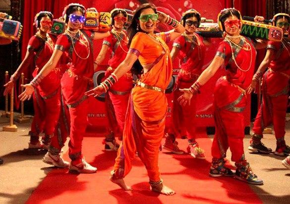 Rani Mukherjee Dancing Pic From Aiyya