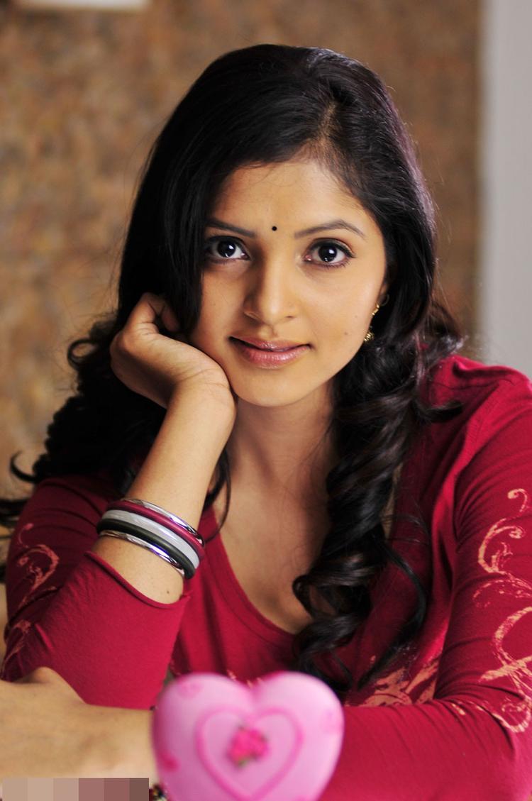 Sanchitha Cute Face Look Still