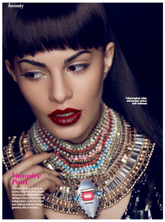 Jacqueline Exclusive Photo Shoot For Cosmopolitan India