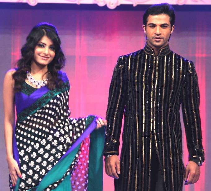 Mohammad And Jiah Walks On Ramp At Gitanjali ITA Fashion Show