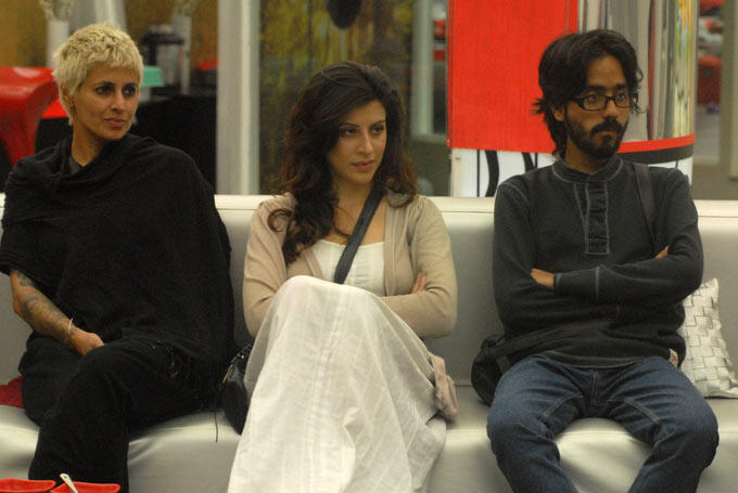 Aseem,Karishma And Sapna In Bigg Boss 6