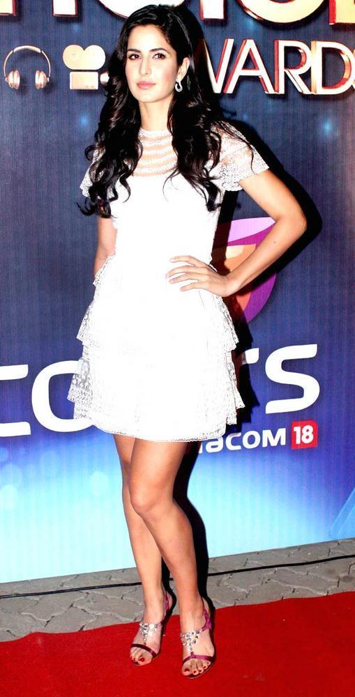Katrina In Valentino Dress Sexy Look At The People's Choice Awards