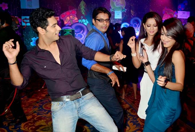 Celebs Shake A Leg At The Saas Bahu Aur Saazish Success Party