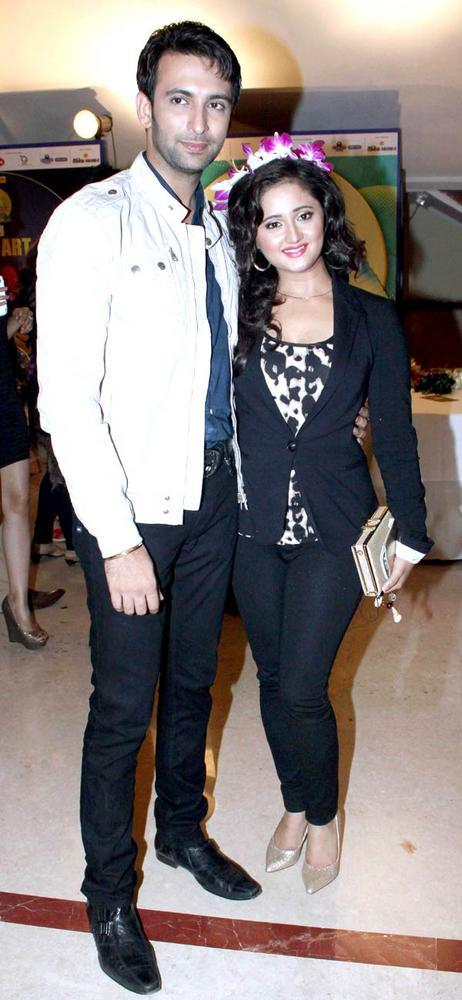 Nandish With Wife Rashmi Attend The Success Party Of The Saas Bahu Aur Saazish