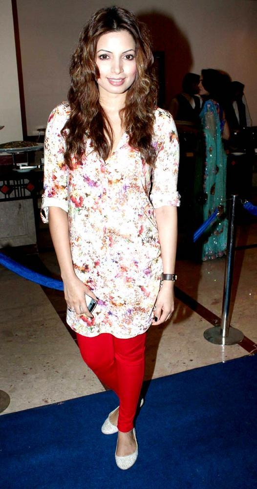 Shama Sikander During The Success Party Of The Saas Bahu Aur Saazish
