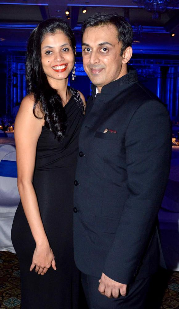 Sunil Gavaskar's Son Rohan With Wife Swati Posed At The Launch Of Ulysse Nardin 34 Watches