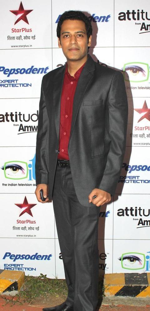 Sameer Posed For Camera At The 12th ITAA 2012 In Mumbai