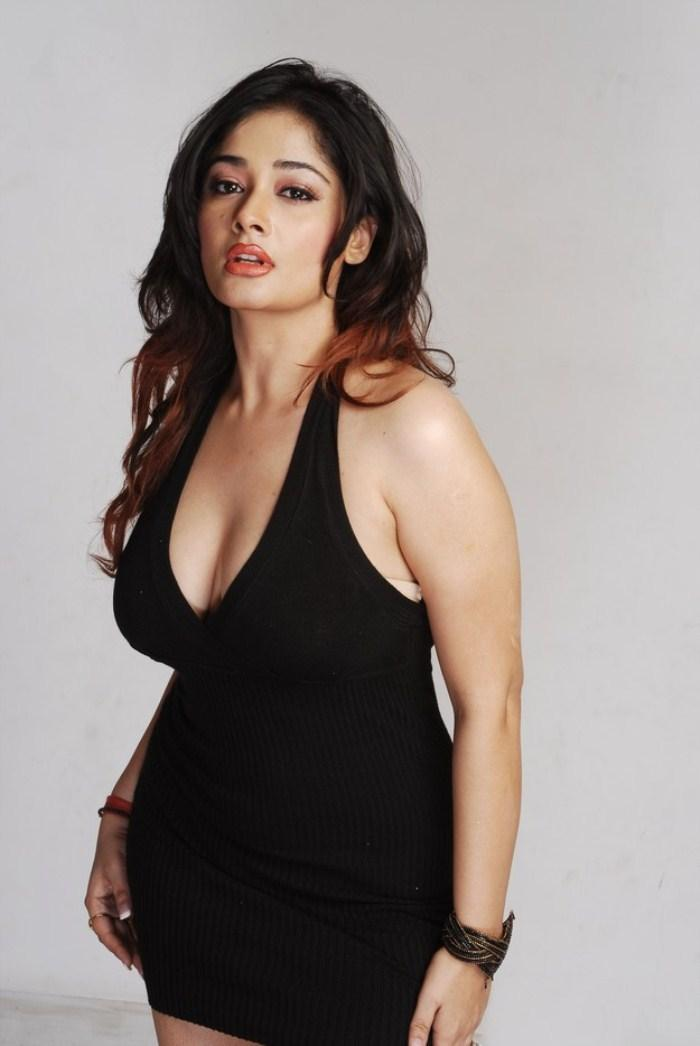 Kiran Rathod Latest In Black Dress Still