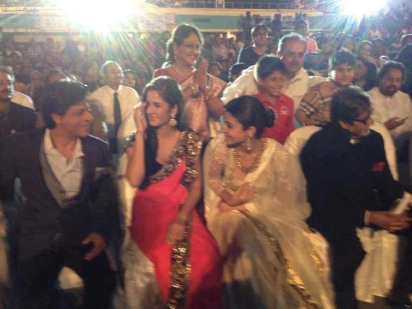 Katrina,Shahrukh,Anushka And Amitabh Snapped At The Kolkata Film Festival