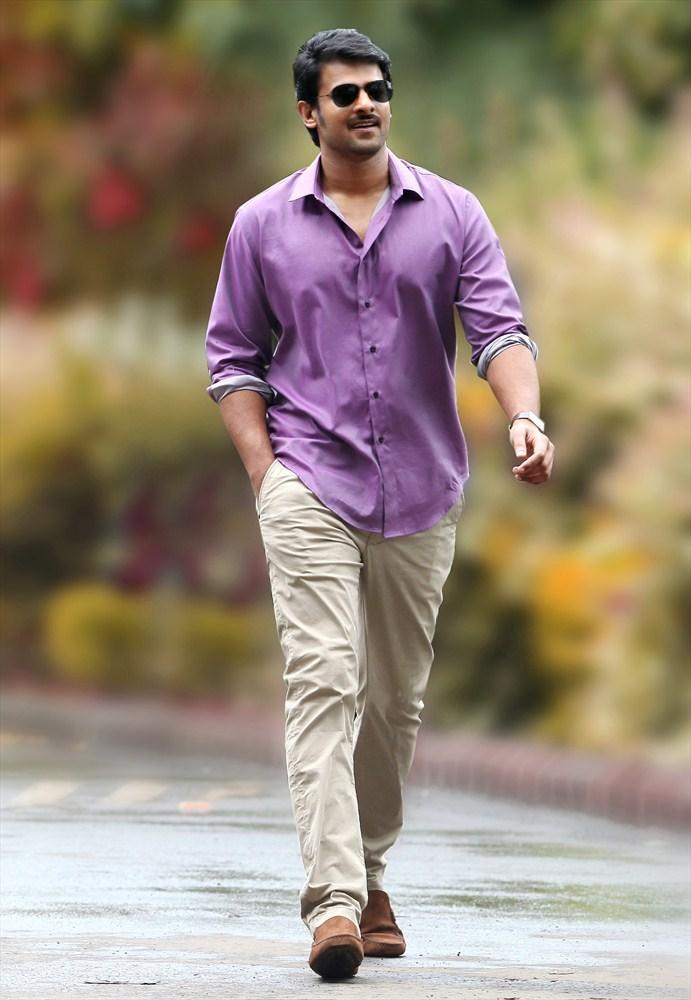 Prabhas Stylish Look Photo From Telugu Movie Mirchi