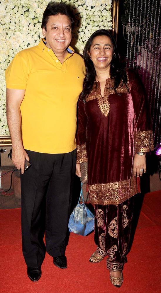 Shashi Ranjan And Anu Ranjan Spotted At Kiran Bawa's Diwali Bash