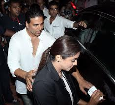 Akshay And Asin Photo Clicked In The Crowd At Kudo Championship To Promote Khiladi 786