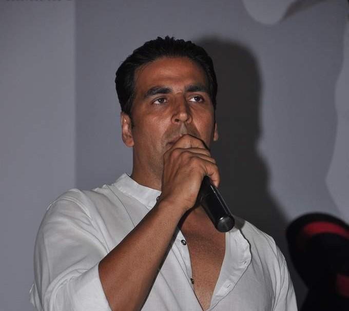 Akshay Snapped While Talking About Khiladi 786 At Kudo Championship