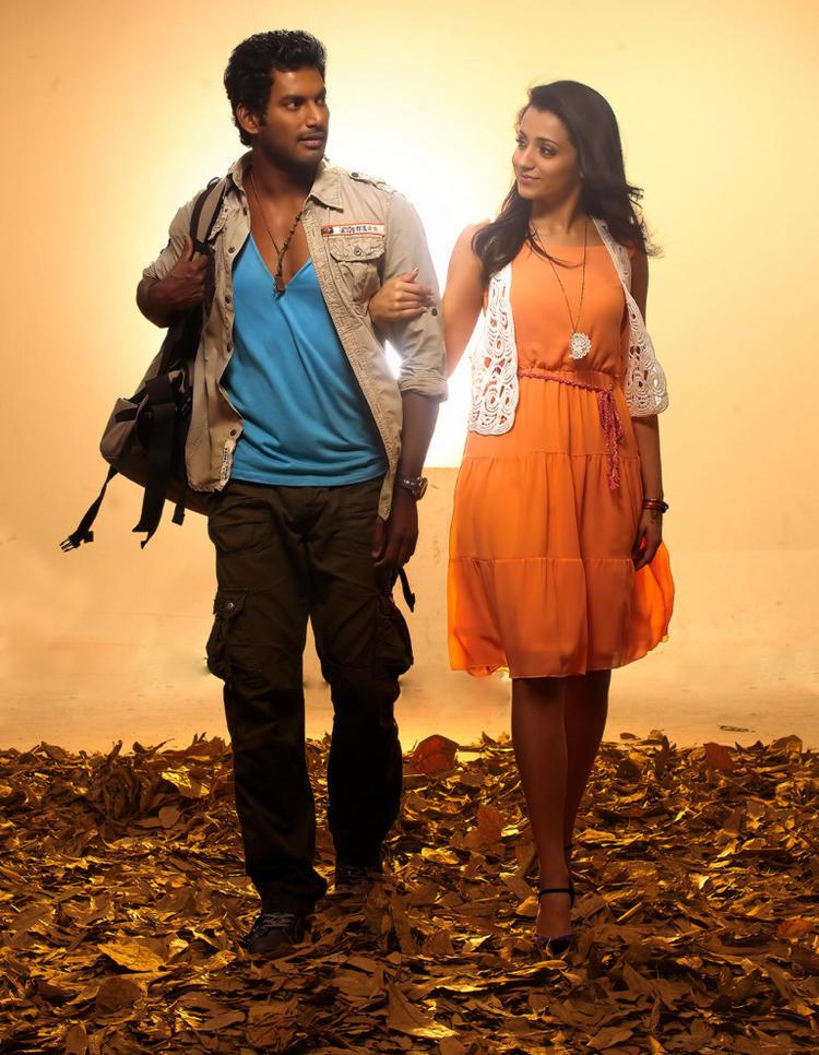 Vishal And Trisha Nice And Cool Still From Samar Movie