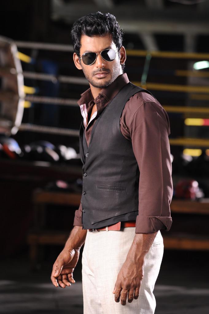 Vishal Krishna Smart Look In Samar Movie Still