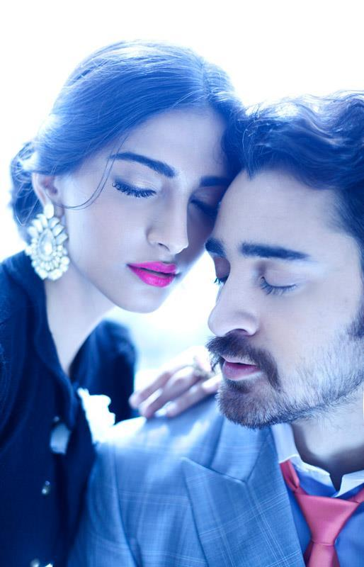 Sonam With Imran Romantic Photo Shoot For Star Weeks Annual Style Issue 2012