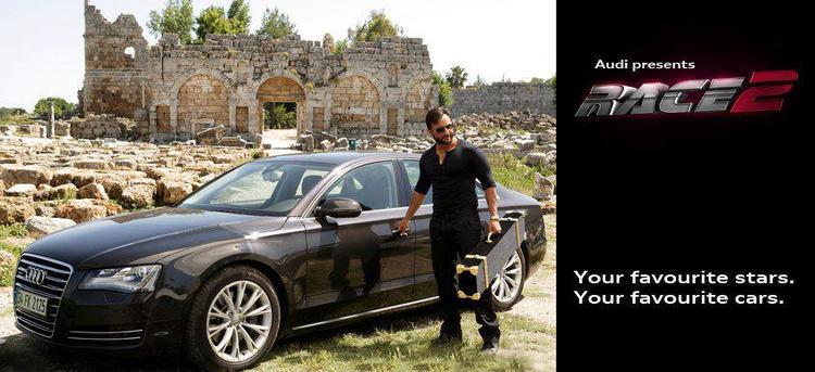 Saif Ali Khan Stylish Photo Shoot For Promotes Audi Car