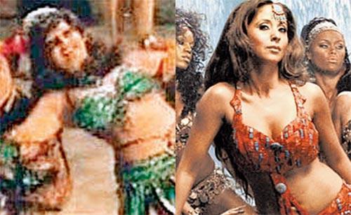 Urmila Item Song Mehbooba Dancing Still From Aag