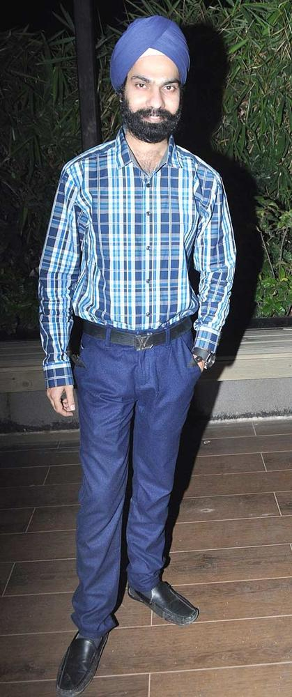 AD Singh Spotted At Jesse Randhawas Birthday Bash