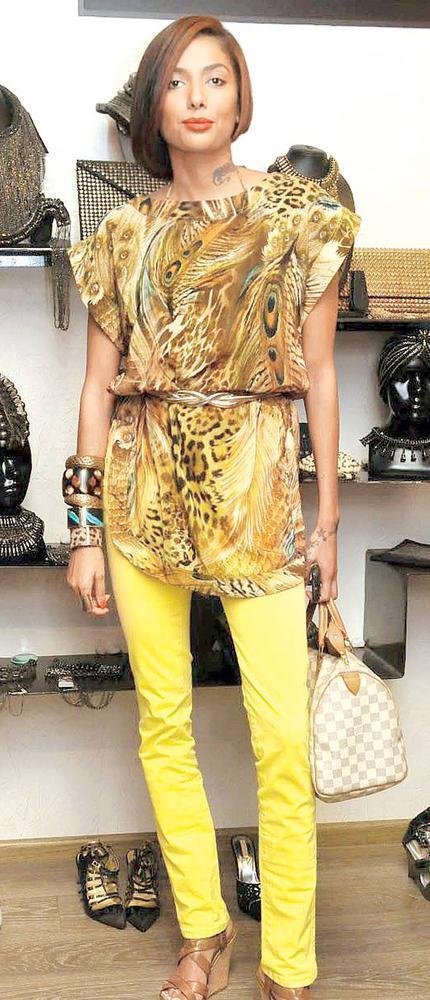 Diandra Clicked At Atosa Preview For Designer Gaurav Gupta And Kanika Saluja