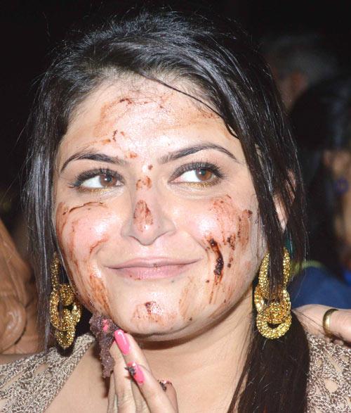 Pragati Mehra Smiling Still At Her Birthday Bash