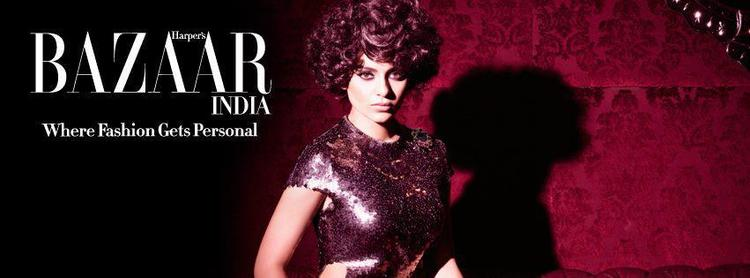 Kangna Ranaut Nice Look On Harpers Bazaar India For December Edition