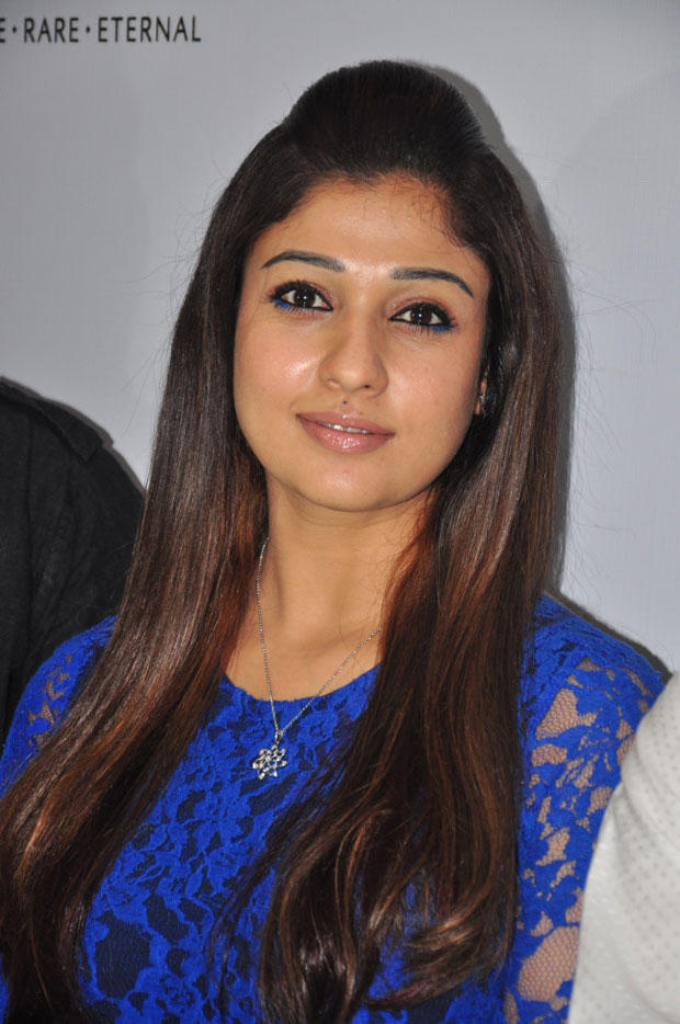 Nayanthara Charming Face Look Still At Jos Alukkas New Collection Launch