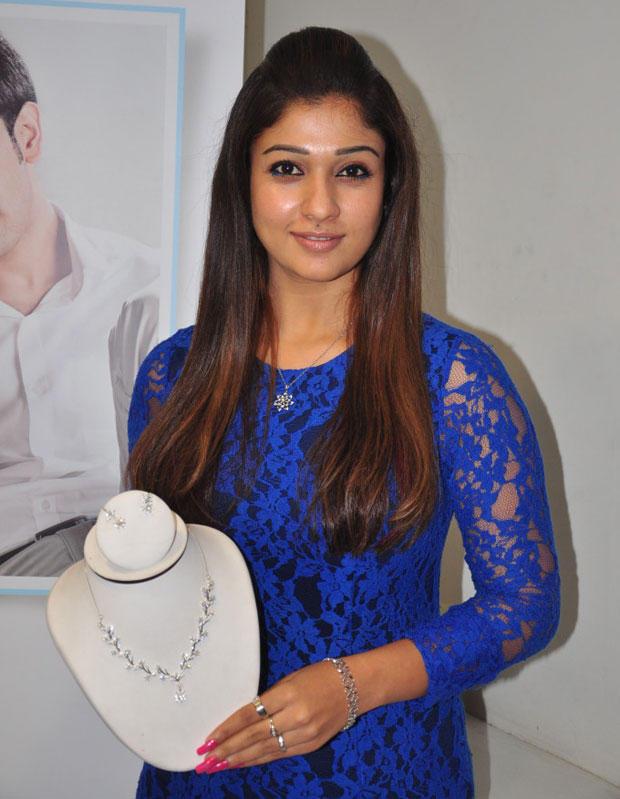 Nayanthara At Jos Alukkas Platinum Jewellery Collection Launch