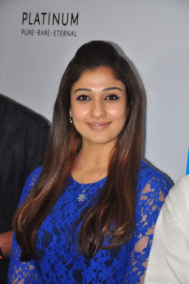 Nayanthara Smiling Still At Jos Alukkas New Collection Launch