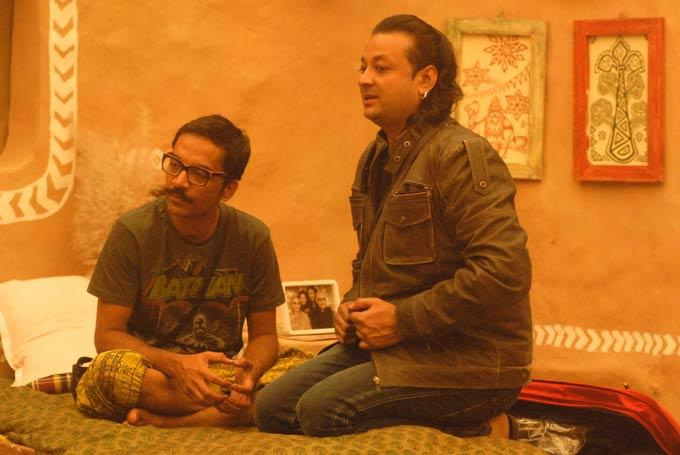 Vrajesh And Santosh Photo Still From Bigg Boss 6 Village House
