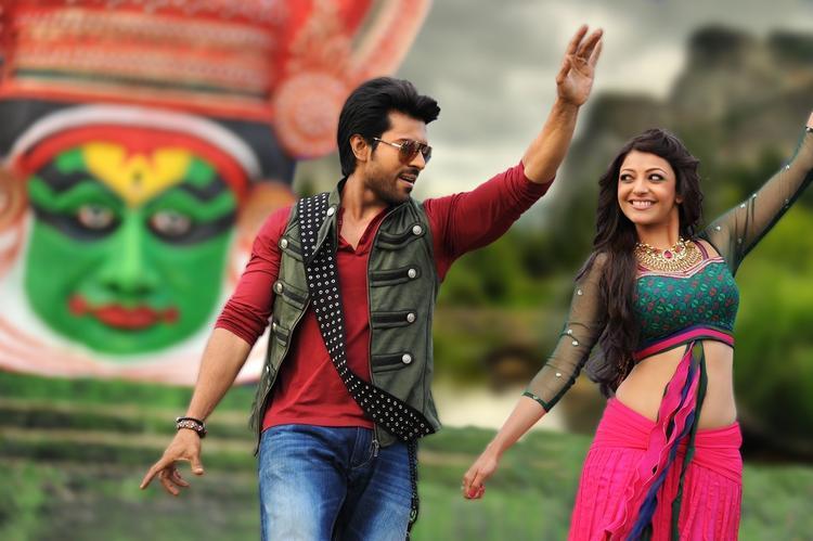 Ram Charan And Kajal Rocked Still Form Nayak Movie