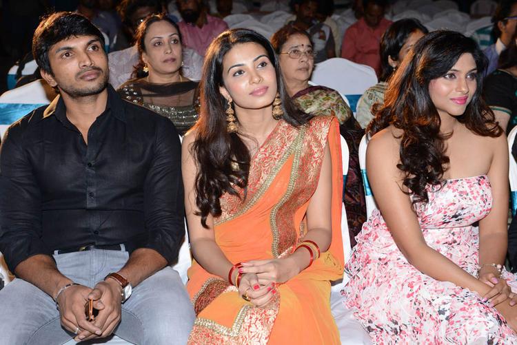 Laxmi And Kavya Enjoy The Programme At Shivani Audio Release Function