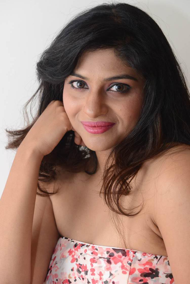 Lakshmi Nair Dazzling Look At Shivani Audio Release Function