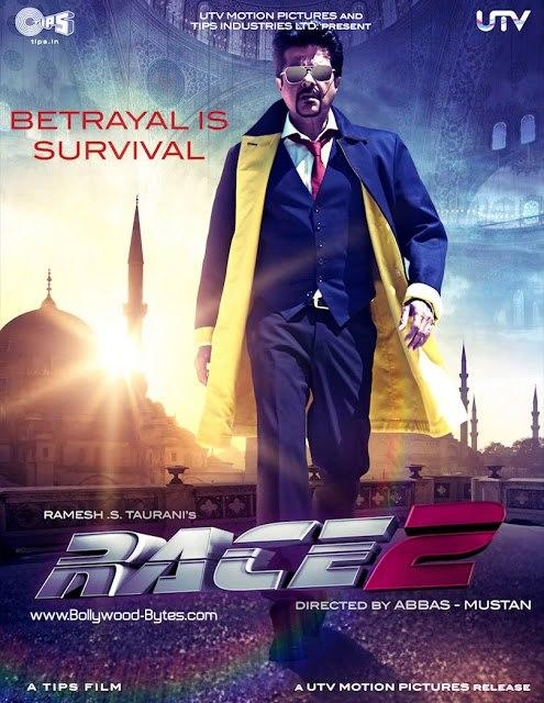 First Look Poster Of Anil Kapoor In Movie RACE 2