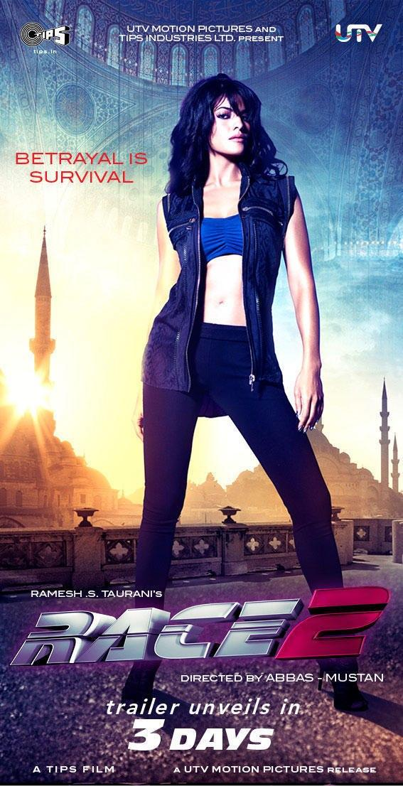 Jacqueline Hot Photo In Race 2 Movie Wallpaper