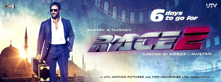 Saif Ali Khan In Race 2  Digital Poster