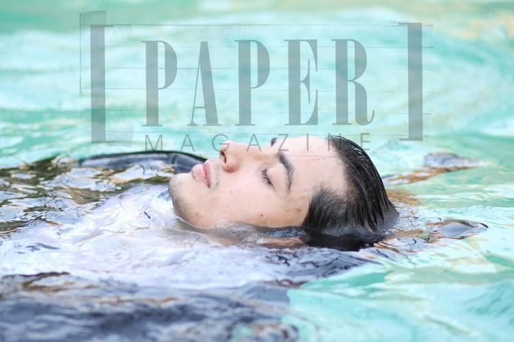 Ali Zafar Drop Dead Look In Water Photo Shoot For Paper Magazine 2012