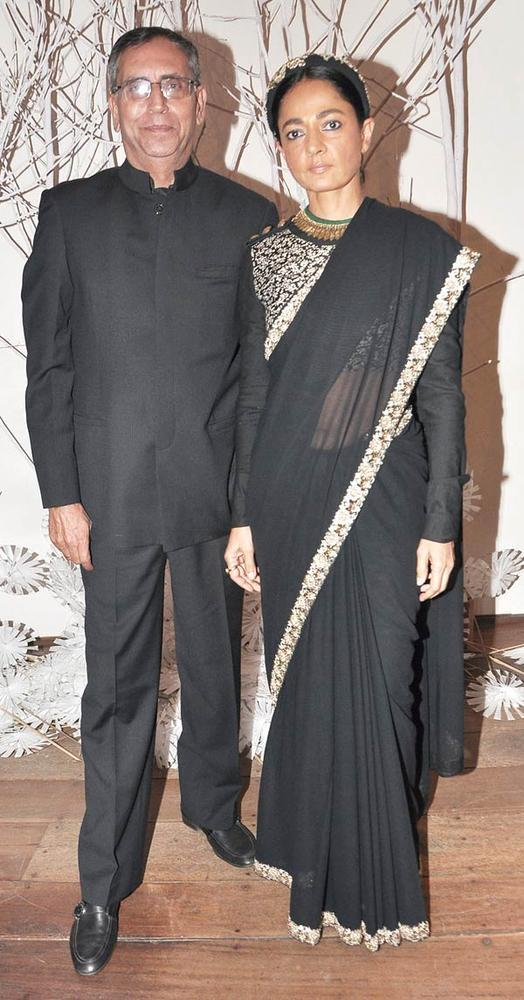 Anil With Wife Sabina Clicked At Ensemble Silver Jubilee Bash