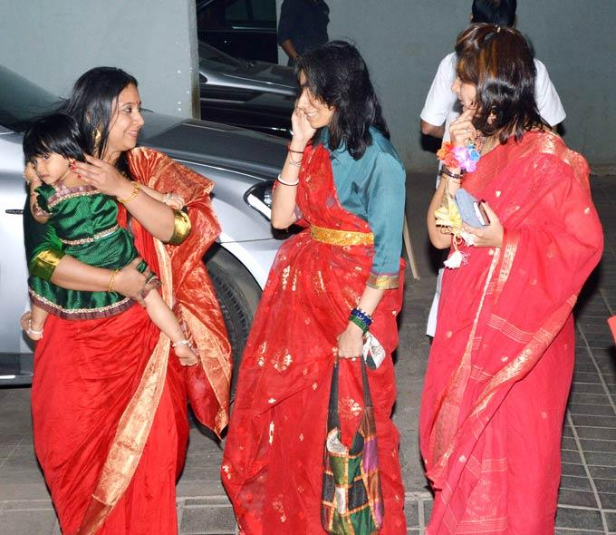Priya Balan The Elder Sister Of Vidya At Her Mehendi Celebration