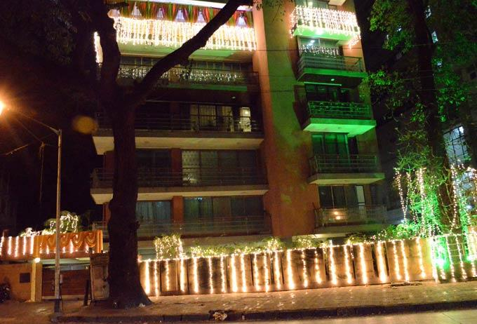 The Venue Hotel View For The Mehendi Ceremony