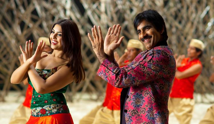 Ravi And Richa Dancing Still From Sarocharu Movie
