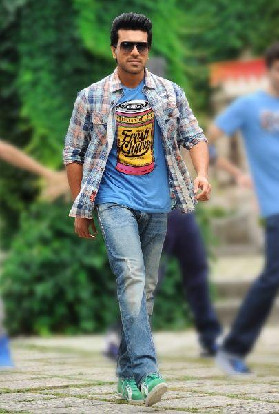 Ram Charan Dashing Style Photo From Telugu Movie Naayak
