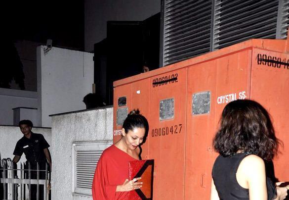 Gauri Khan Spotted At Yuvraj Singh Birthday Bash
