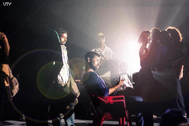 Prabhu Deva Photo Clicked On The Sets Of Movie ABCD