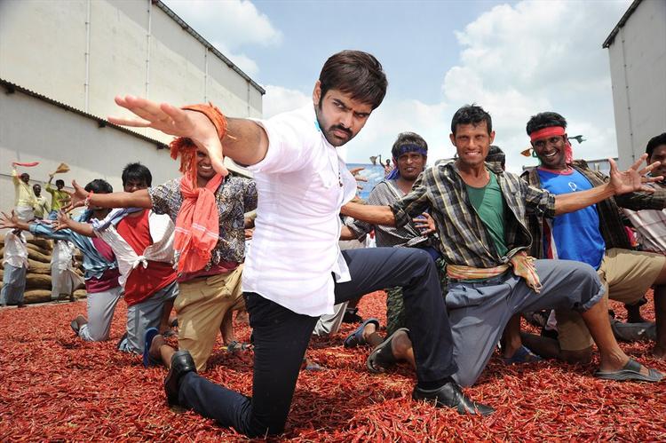Ram Pothineni Dancing Still From Ongole Githa Movie