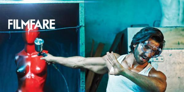Ranveer Singh Action Pose Photo Shoot For Filmfare January 2013 Issue