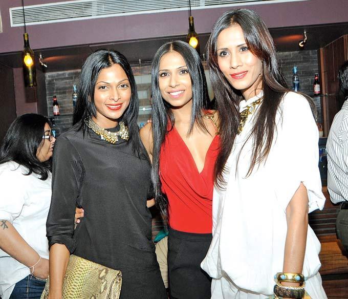Nina Manuel,Candice Pinto And Kavita Kharayat Clicked At Grace Lagerbay Christmas Bash