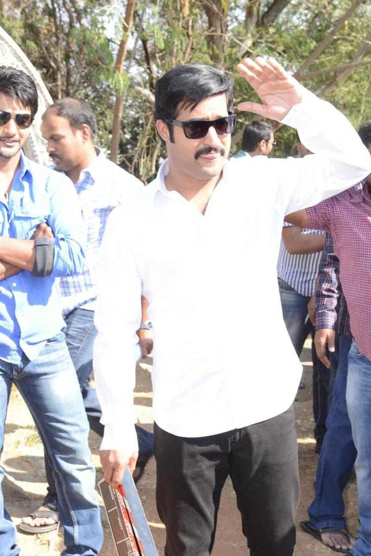 Aadi And Jr NTR Arrived At Aadi New Movie Launch Event