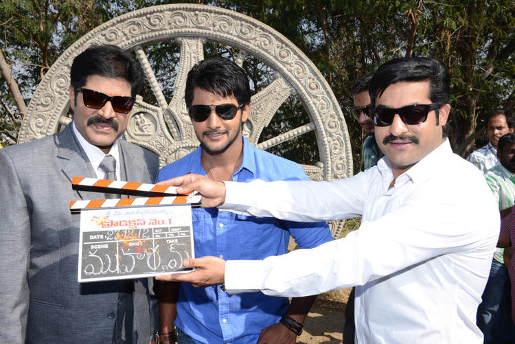 Jr NTR Clapped Photo At Aadi New Movie Launch Event