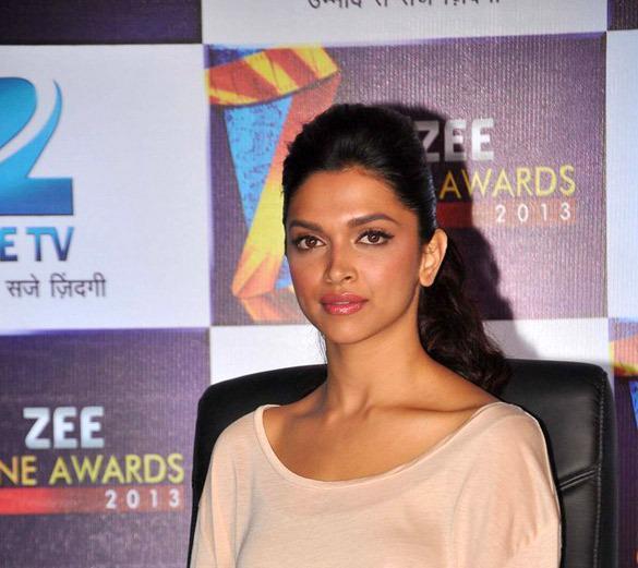 Deepika Padukone At Zee Cine Awards Press Conference